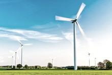Windräder - erneuerbare Energie