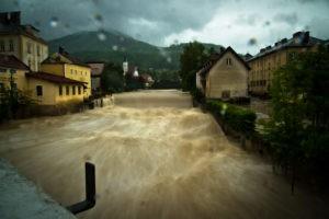 Flood 2014 in Scheibbs, Lower Austria, Photo credit: René Wieland