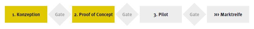 3 Schritt zur Lösung State-Gate-Prozess