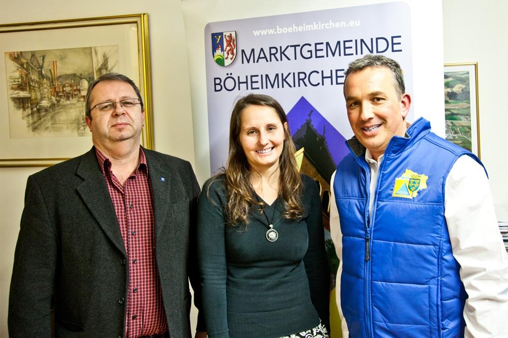 Interview Böheimkirchen: Manfred Rumel, Sabrina Waldbauer, Gerhard Lechner