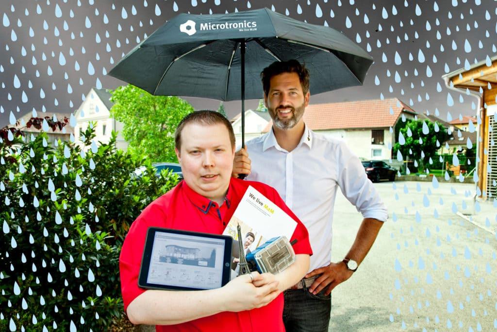 Microtronics lässt Sie nicht im Regen stehen