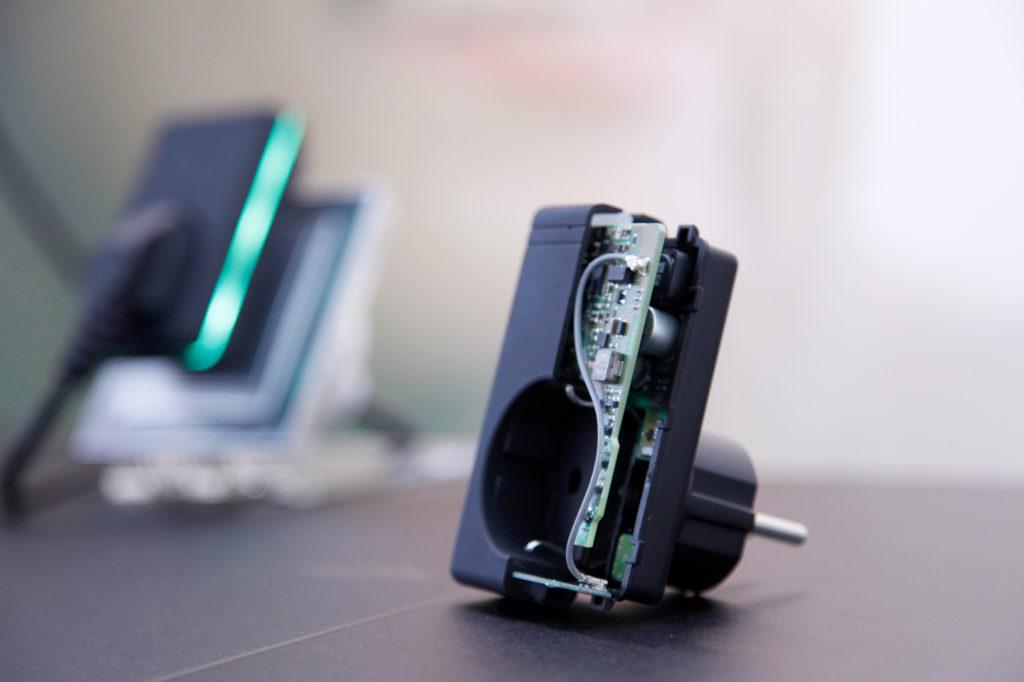 QGate offen - Sensoren und Kommunikation