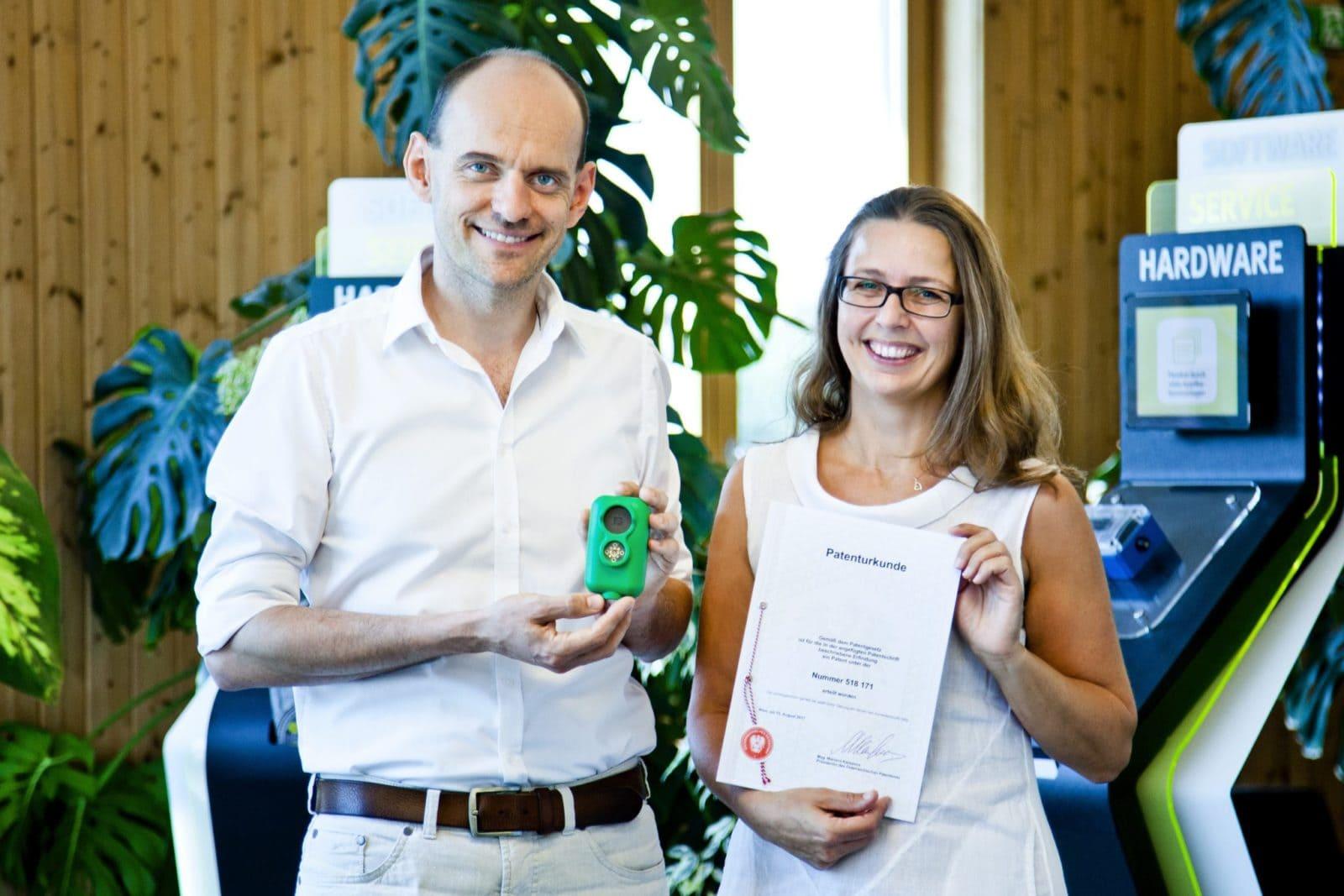 Patent - Hans Peter Buber & Renate Maier